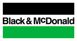 Black McDonald Logo