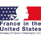 France in the United States Logo