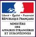Ministère des affaires étrangères et européennes Logo