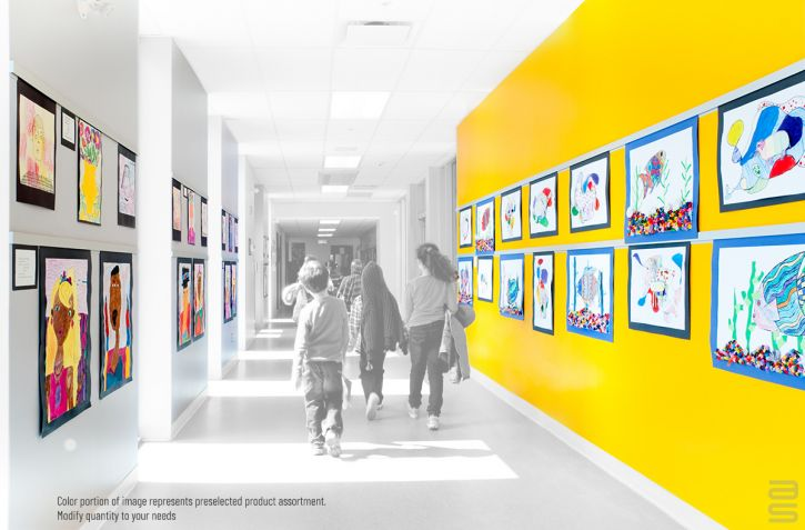 Casso Rail transforms  school hallways in exhibit