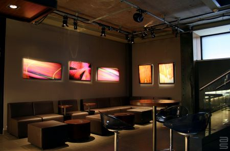 Gallery Wall Hanging System for Hospitality Space