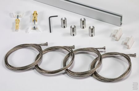 All-in-One Xpo Rail Track Hanging Kit