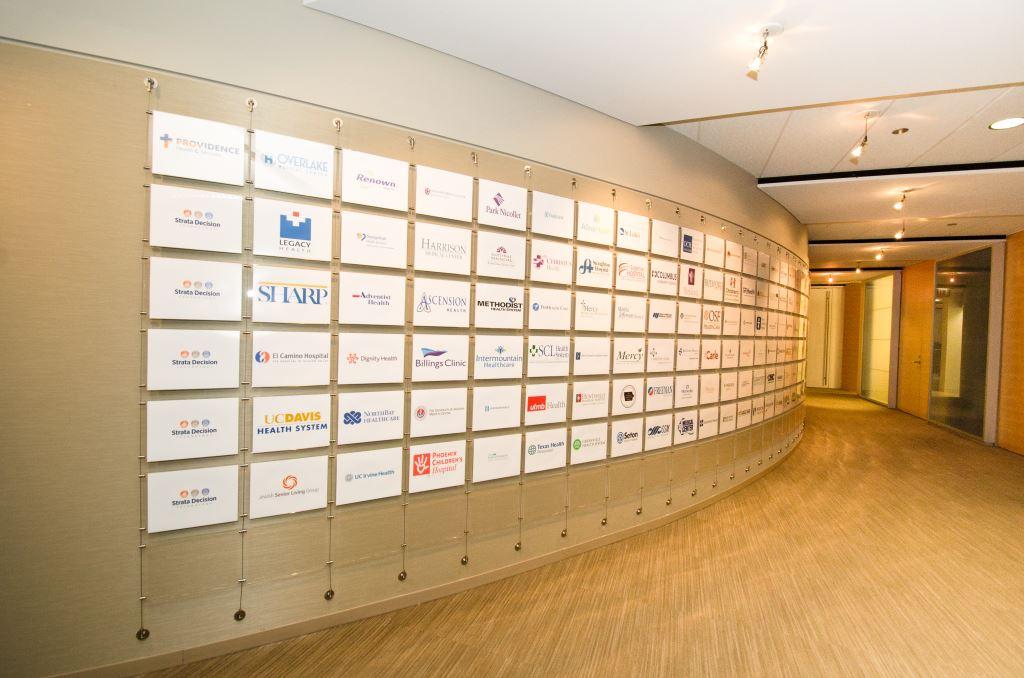 Fantastic Branding Wall As Hanging