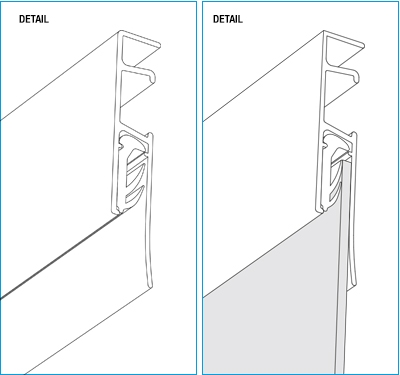 Casso Display Rail Detail Illustration by ashanging.com