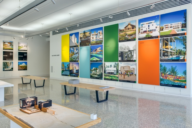 Architecture Display using ashanging.com Panel Hook.
