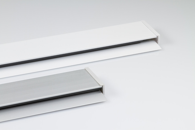 Casso Display Rail color choices by ashanging.com