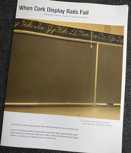 When Cork Display Rails Fail White Paper by AS Hanging Display Systems
