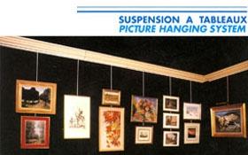 Suspension a tableaux