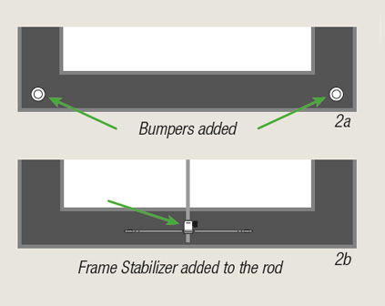"How to manage ""face forward"" Frame Tilt with bumpers by ashanging.com"