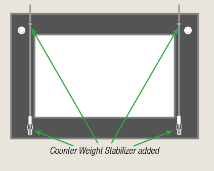 "Manage ""face forward"" frame tilt with bumpers by ashanging.com"