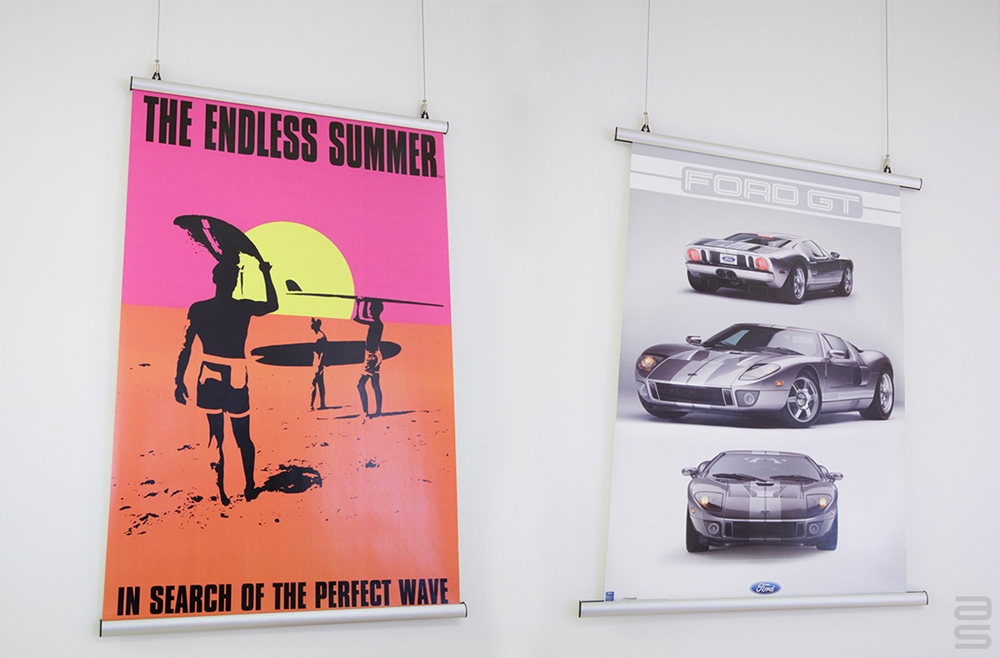 The Poster Hanger by AS Hanging Display Systems