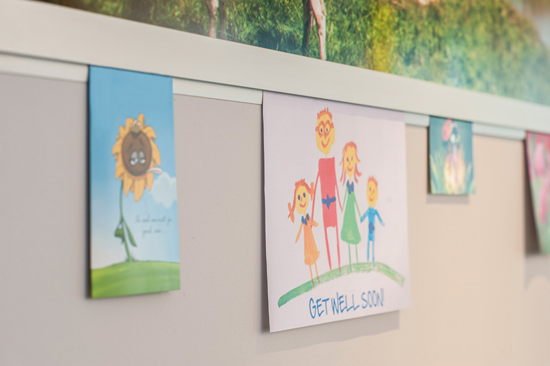 Casso Display Rail for Get Well Soon Cards
