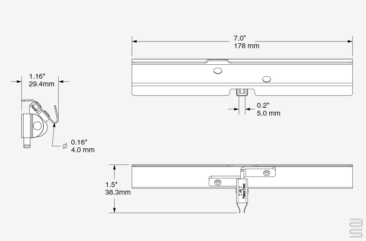 Stable Gallery Hook Spec Sheet