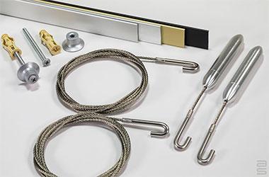 Kit rail Contempo® en tension