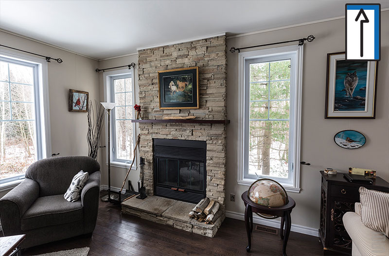 IDEAS HOW TO HANG ON A FIREPLACE